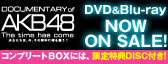 DOCUMENTARY of AKB48 The time has come 少女たちは、今、その背中に何を想う?DVD&Blu-ray